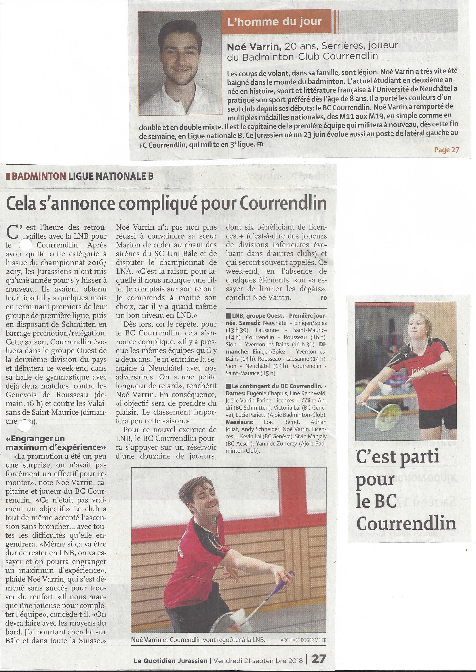 BC Courrendlin
